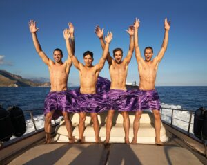 The Warwick Rowers Grin and Bare it in New 2021 Calendar