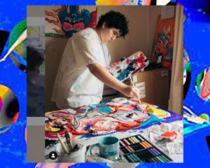 Transgender Teen Escapes Abuse, Discovers Multi-Million Dollar Art Career