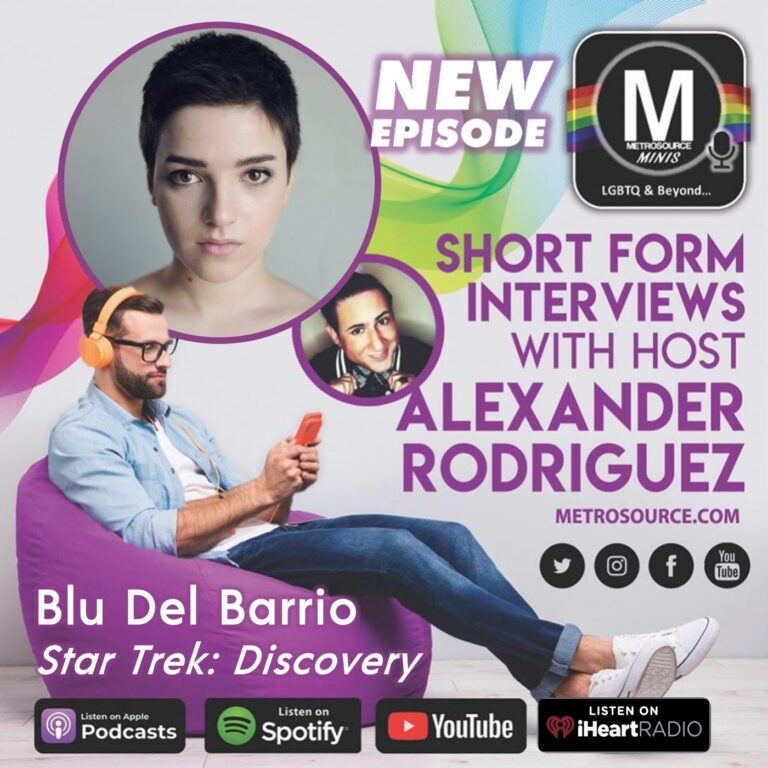 Star Trek Discovery's Blu Del Barrio: the Future of Non-Binary Space